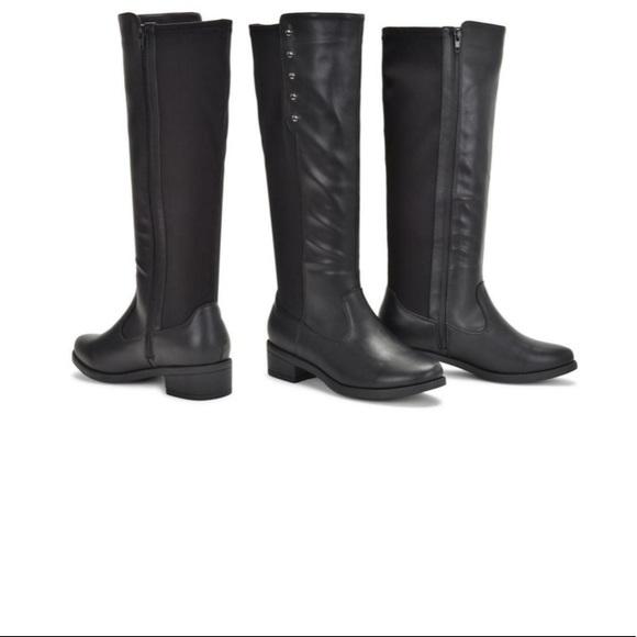 8cbf6f27d60 Sociology Fling Stretch Knee High Boots - Black-